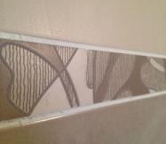 Frise de la salle d'eau de notre Maison Phénix