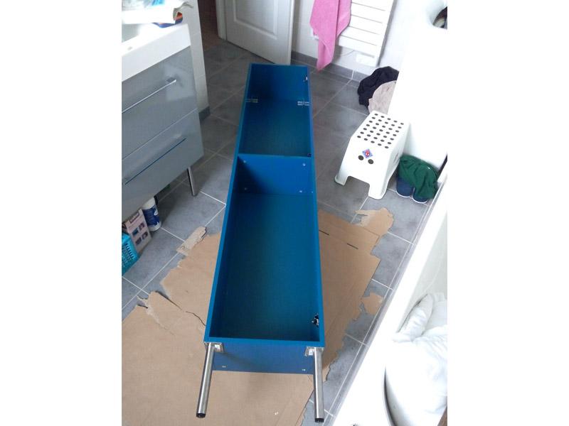 D coration le meuble de salle de bain ma maison phenix for Bain de pied maison