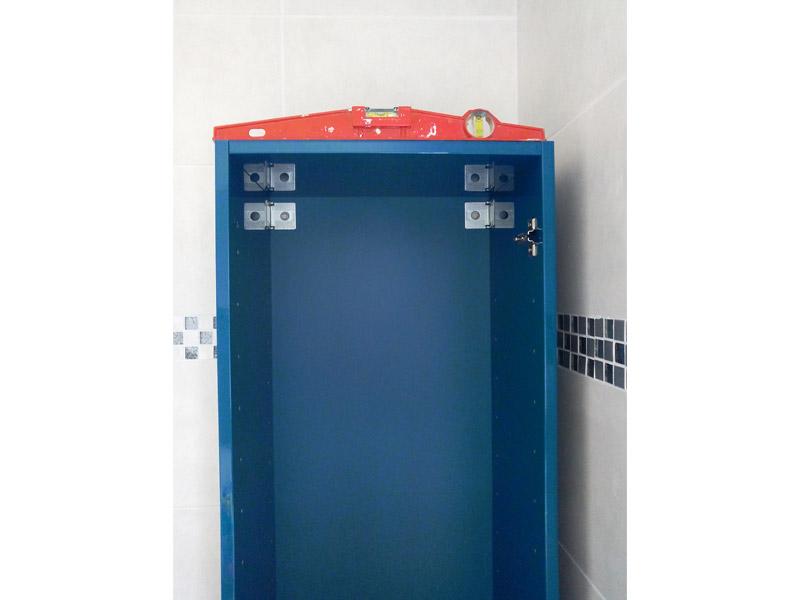 positionnement du meuble de salle de bain
