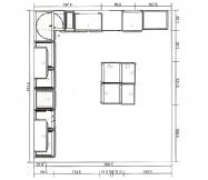 Plan de notre cuisine Ikéa