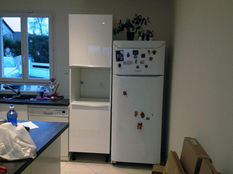 La cuisine est termin e enfin presque ma maison phenix - Colonne de cuisine ikea ...