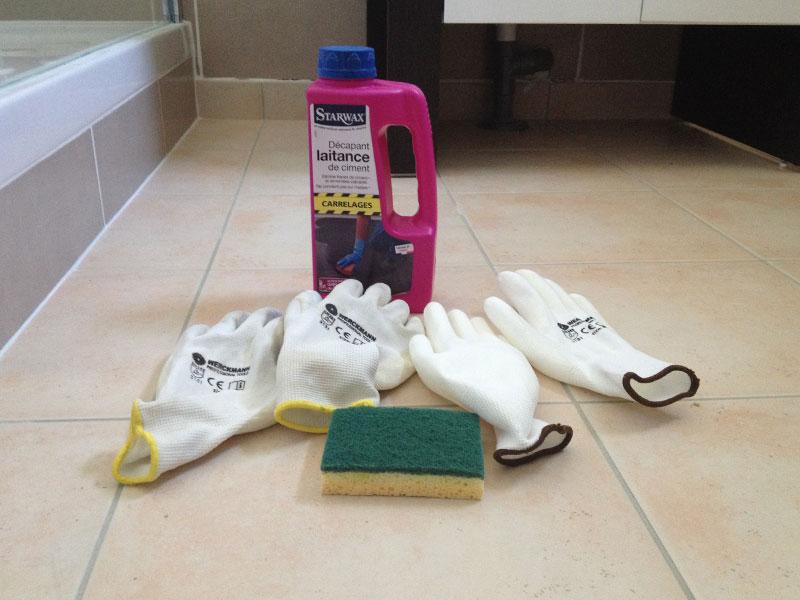 D capage des fa ences des salles de bain ma maison phenix - Materiel salle de bain ...