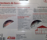 description de nos détecteurs de fumée kidde