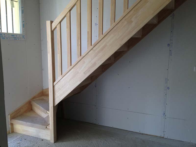 Escalier installé dans notre Maison Phénix