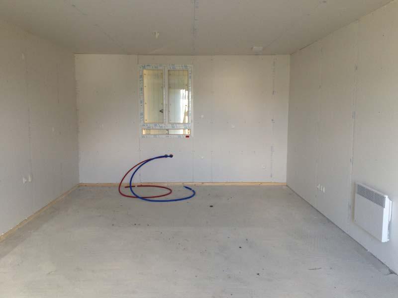 Notre cuisine de 18 m2 dans notre Maison Phénix