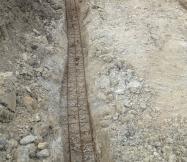 Trou et ferraillage des fondations de notre Maison Phénix
