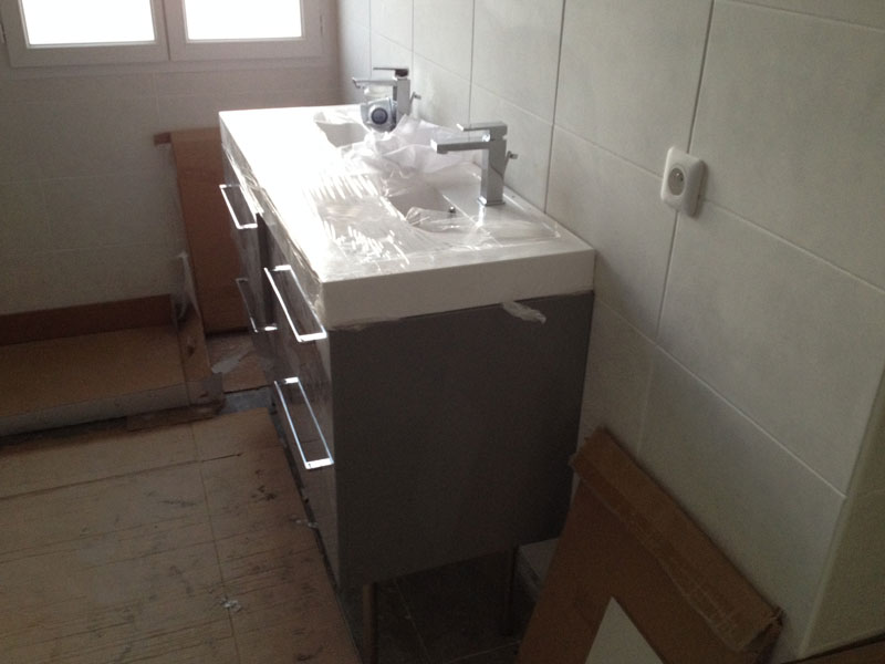 materiel salle de bain pice moderne acier inoxydable