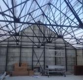 La fameuse structure métallique d'une Maison Phénix.