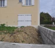 Manque de terre sur notre terrain
