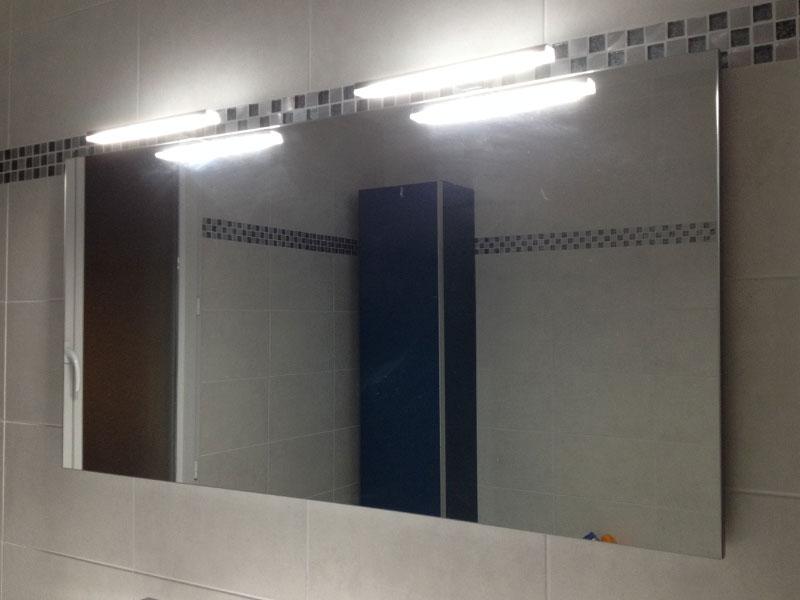 neon salle de bain ne fonctionne plus grand miroir de 120 cm de long