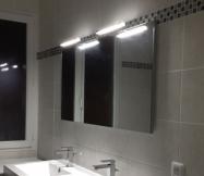 Le miroir de notre salle de bain