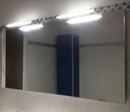 grand miroir de 120 cm de long