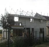 Vue de la façade avant de notre maison