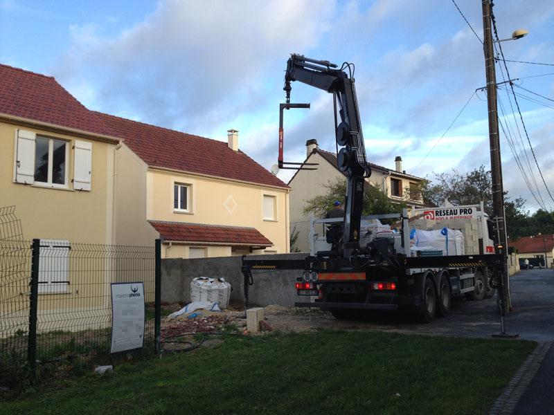 Le mur est de retour ma maison phenix Materiel construction maison