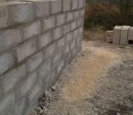 Joints de notre mur terminés