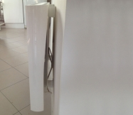 Radiateur Sauter, modèle Baladi installé dans notre cuisine.