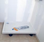 carrelage de la salle d'eau