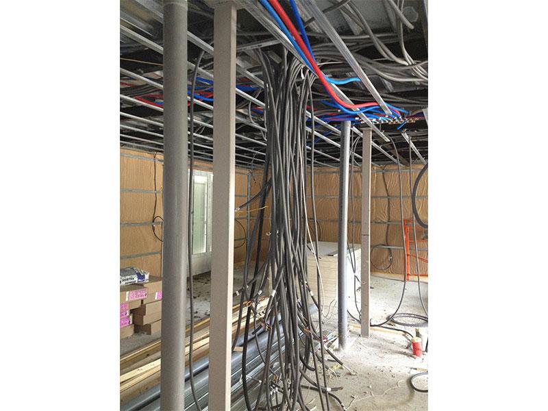 l'installation électrique de notre Maison Phénix