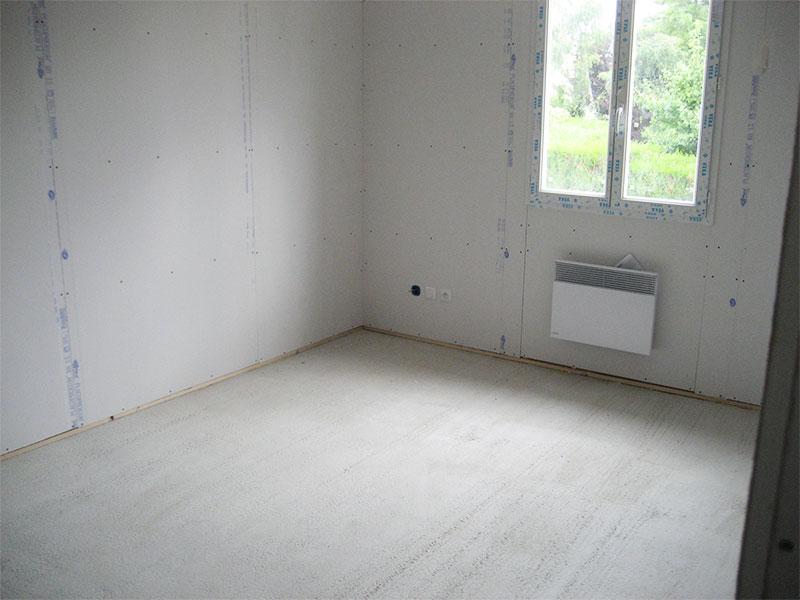 photos et vid o pose des bandes et enduits sur les cloisons ma maison phenix. Black Bedroom Furniture Sets. Home Design Ideas