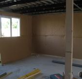 isolation de l'espace salle à manger