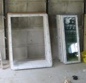 voici les encadrements de fenêtres