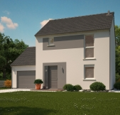 Maison Phénix à étage avec garage, finition-tendance