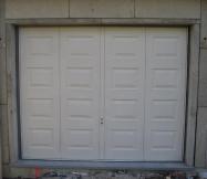 Porte de garage Maison Phénix posée