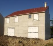 Volets de la façade arrière de notre Maison Phénix