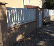 La clôture et le portillon de notre Maison Phénix