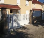 Le portail coulissant de notre Maison Phénix