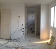 Chambre, dressing et salle de bain de notre Maison Phénix