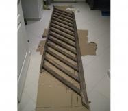 La rambarde de l'escalier est teintée !