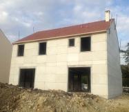 Vue arrière toiture avec tuiles Maison Phénix