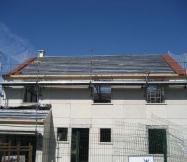 Structure de la toiture de notre Maison Phénix