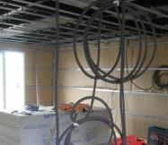 Passage des câbles électriques de notre Maison Phénix