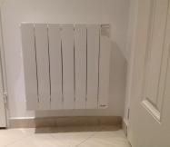 Notre radiateur Sauter Baladi est maintenant fixé.
