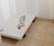 Bac de douche 120x80 et carrelage de notre salle de bain Maison Phénix
