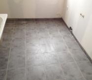 Carrelage de la salle de bain de notre Maison Phénix