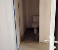Carrelage des toilettes de notre Maison Phénix