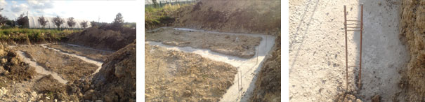 fondations terrain Maison Phénix