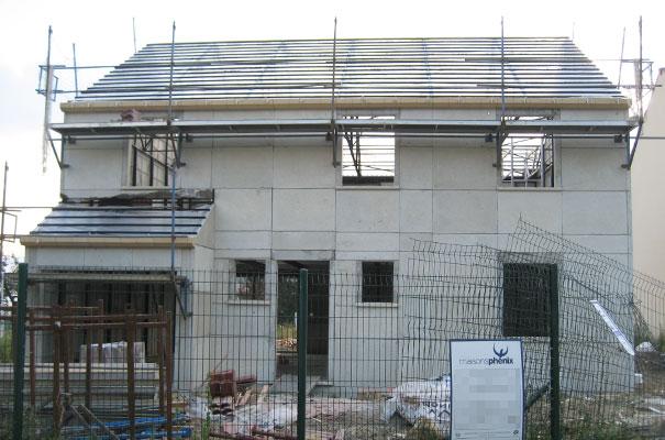 Charpente et pose de corniches termin es ma maison phenix Materiel construction maison