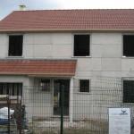 Création du porche et couverture de l'avancée de garage
