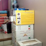 Travaux intérieurs : achat du matériel pour les pièces d'eau
