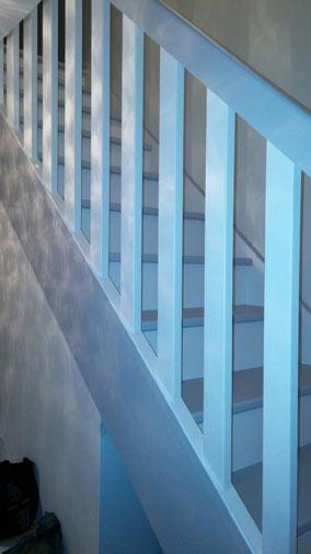 Rembarde escalier Maison Phenix