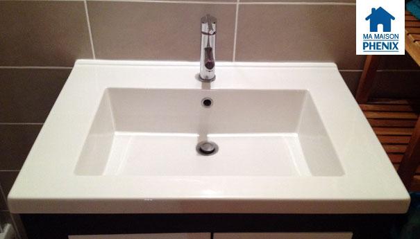 salle de douche Maison Phénix