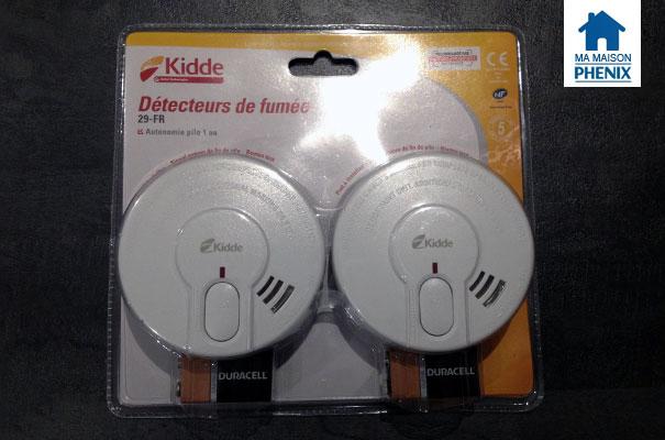 détecteurs de fumée Maison Phénix