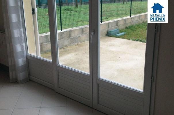Maison Phénix problème des fenêtres