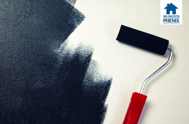 fuite d eau la peinture du plafond ma maison phenix. Black Bedroom Furniture Sets. Home Design Ideas