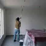 Fuite d'eau : la peinture du plafond (épisode 3)