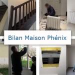 Bilan de 2 années de vie au sein de notre maison Phénix : l'intérieur (partie 2)